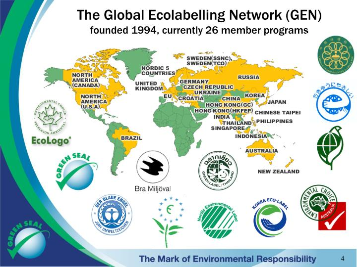 The Global Ecolabelling Network (GEN)