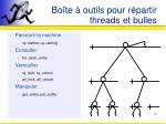 bo te outils pour r partir threads et bulles1