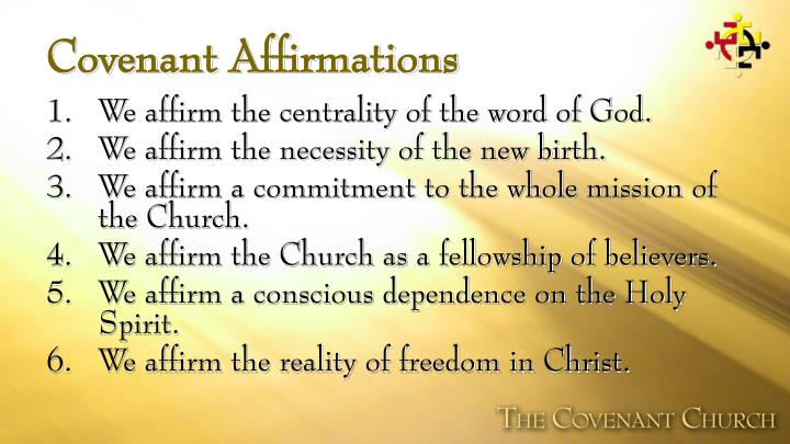 Covenant Affirmations