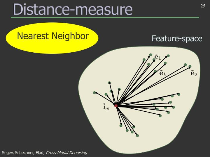 Distance-measure