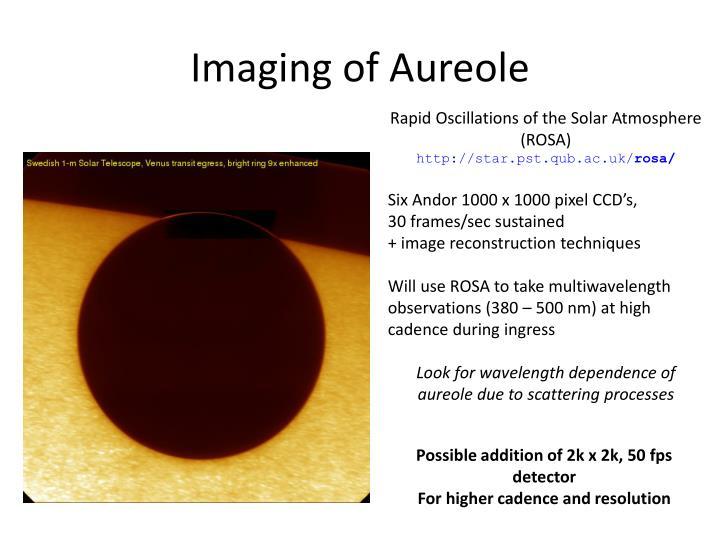 Imaging of Aureole