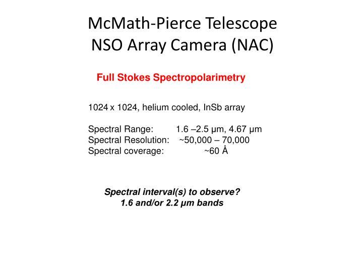 McMath-Pierce Telescope