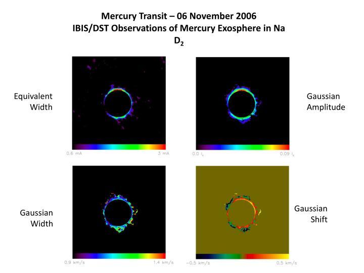 Mercury Transit – 06 November 2006