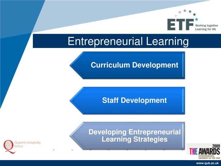 Entrepreneurial Learning