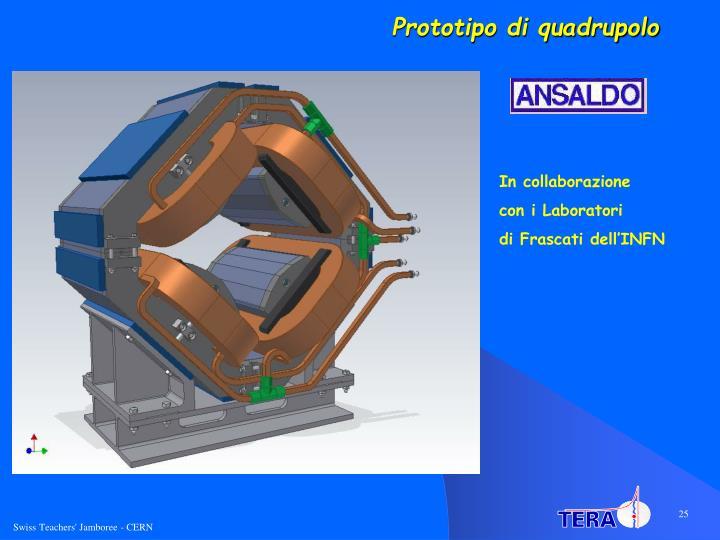 Prototipo di quadrupolo