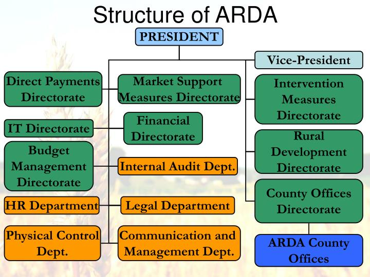 Structure of arda