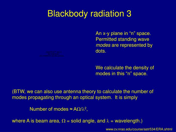 Blackbody radiation 3