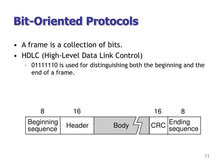 Bit-Oriented Protocols