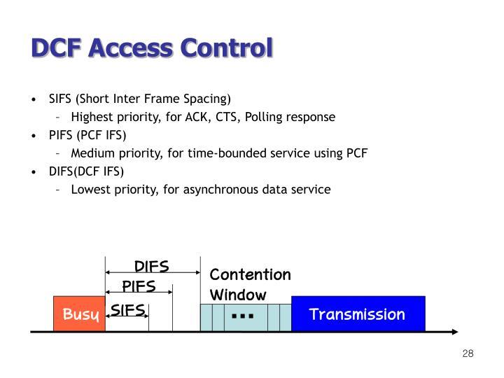 DCF Access Control