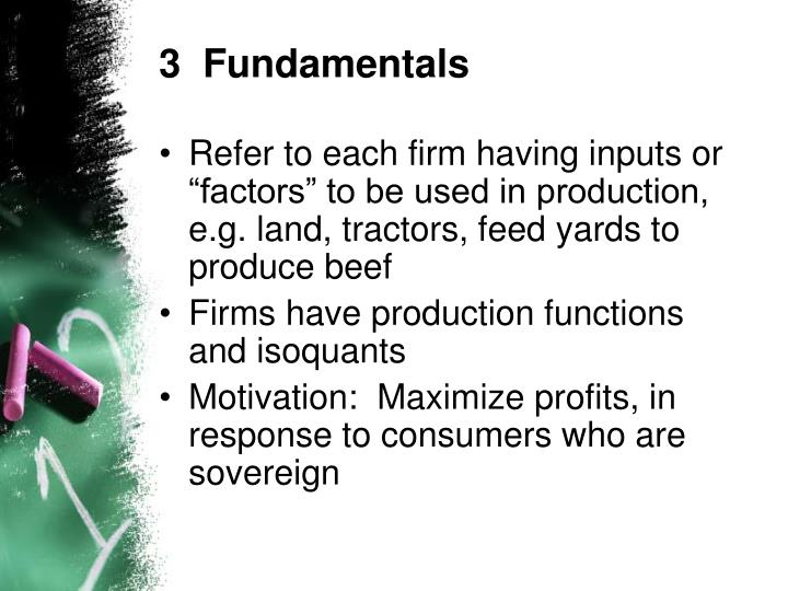 3  Fundamentals