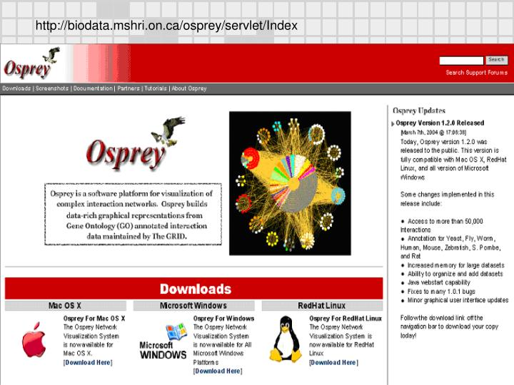 http://biodata.mshri.on.ca/osprey/servlet/Index