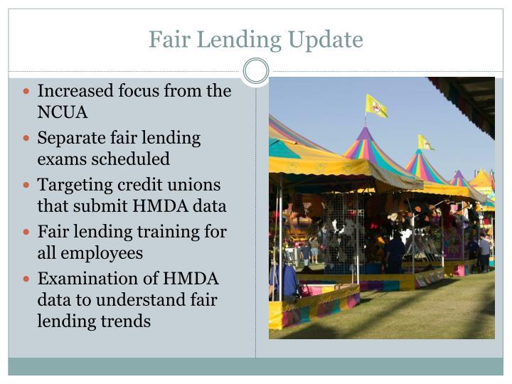 Fair Lending Update