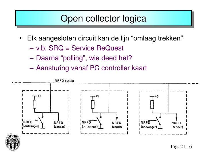 Open collector logica