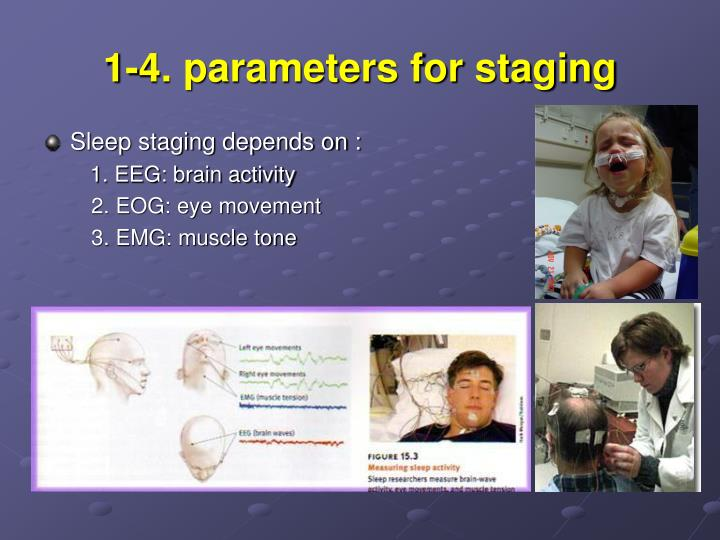 1-4. parameters for staging