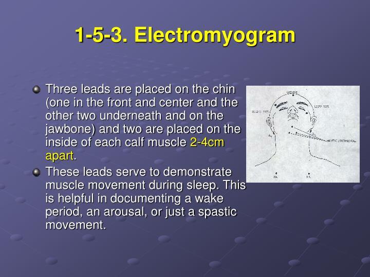 1-5-3. Electromyogram