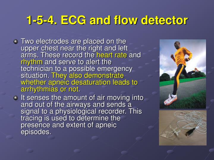 1-5-4. ECG and flow detector