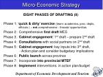 micro economic strategy