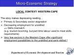 micro economic strategy2