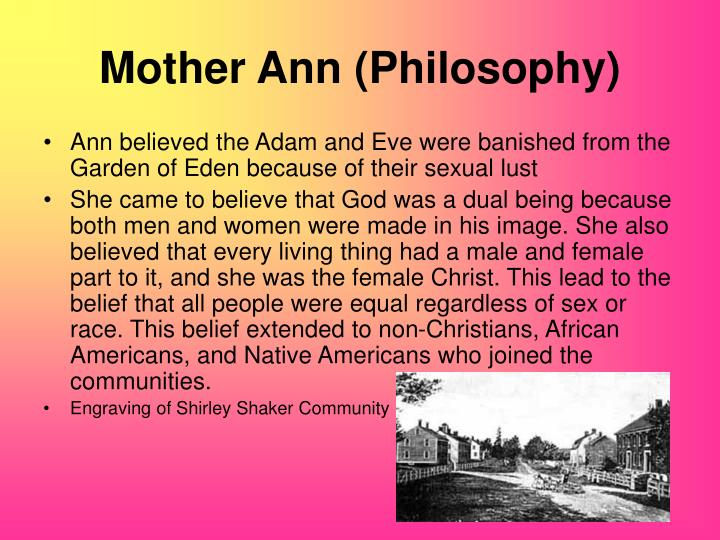 Mother Ann (Philosophy)