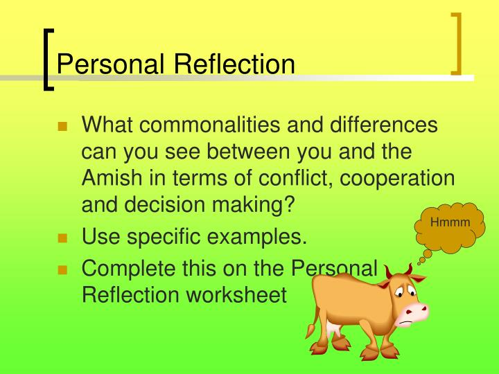 personal cultural reflection And cultural distance into new opportunities for learning and personal growth in particular, it focuses on the potential benefits of reflection in the context of cross-cultural.