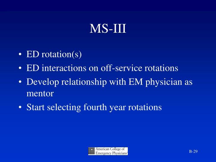MS-III