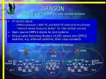dragon intra and inter domain dynamic optical services