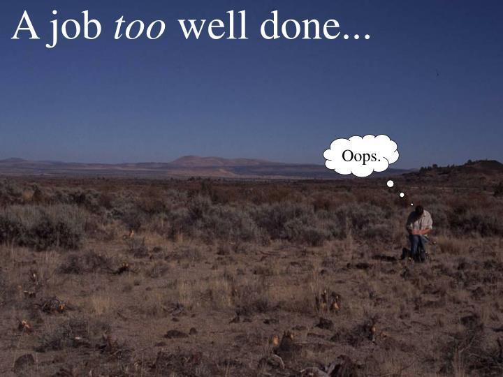 A job