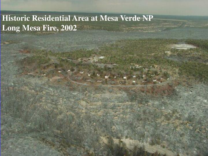 Historic Residential Area at Mesa Verde NP