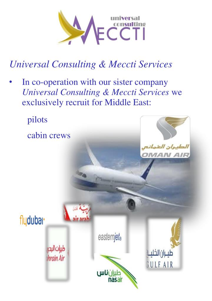 Universal Consulting & Meccti Services