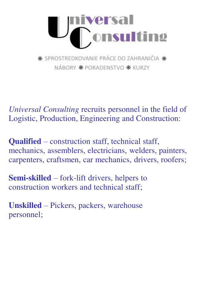 Universal Consulting