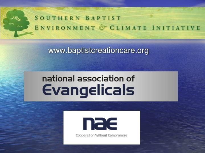 www.baptistcreationcare.org