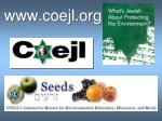 www coejl org