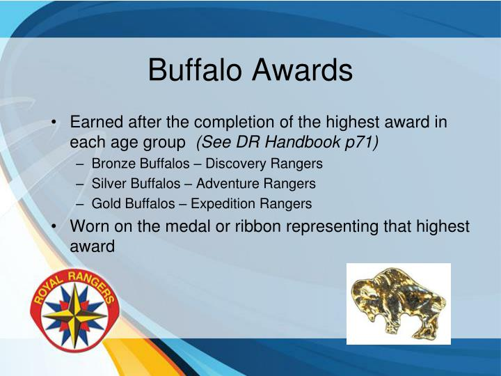 Buffalo Awards