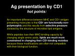 ag presentation by cd1 hot points1