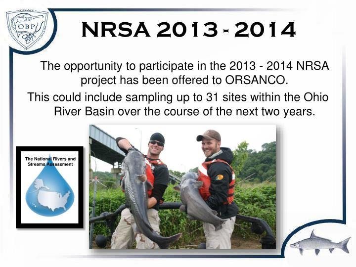 NRSA 2013 - 2014