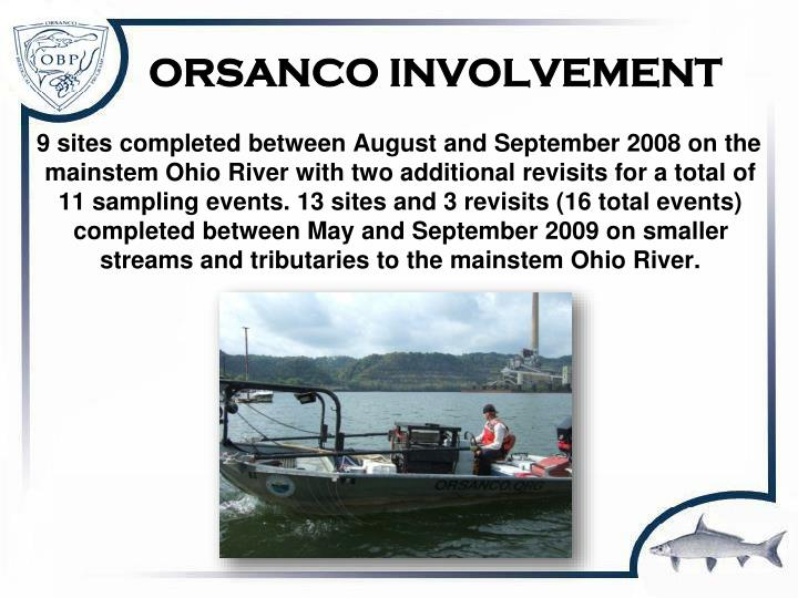 ORSANCO INVOLVEMENT