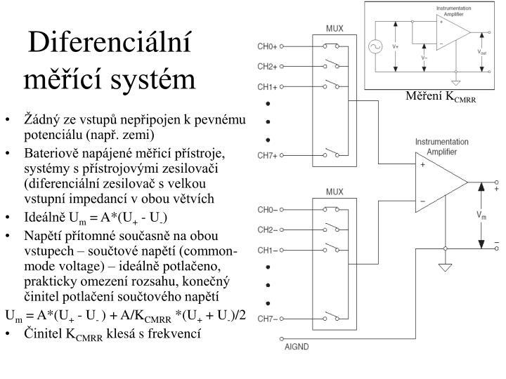 Diferenciální měřící systém
