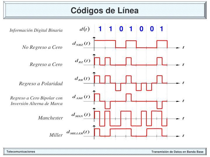 Códigos de Línea