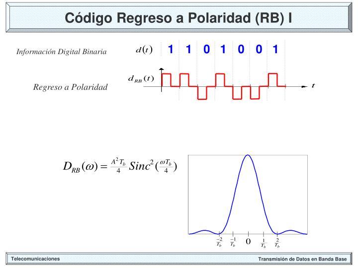 Código Regreso a Polaridad (RB) I