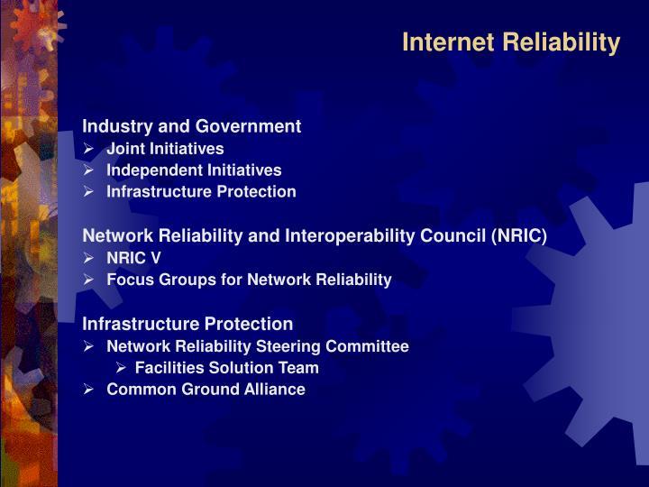 Internet Reliability