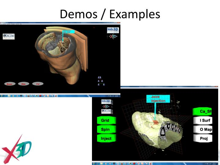 Demos / Examples