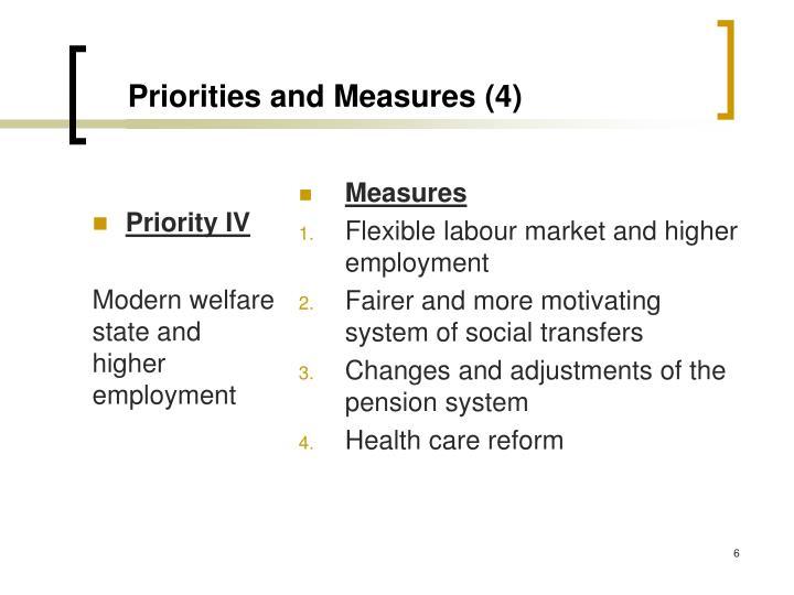 Priority IV