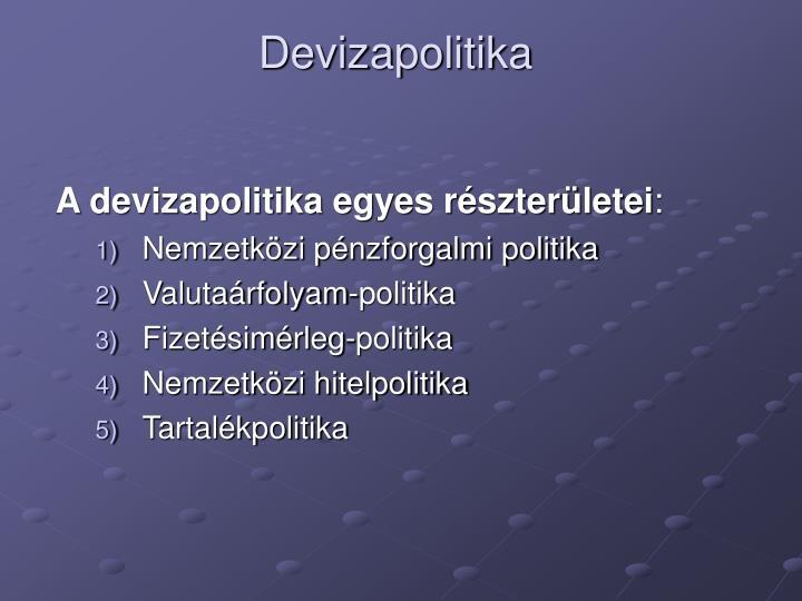 Devizapolitika