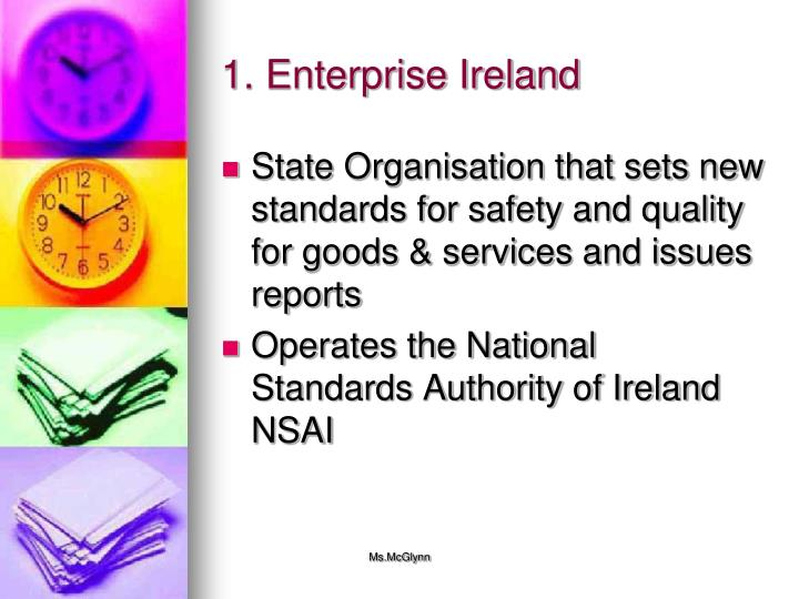 1. Enterprise Ireland