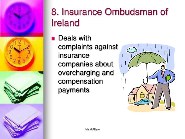 8. Insurance Ombudsman of Ireland