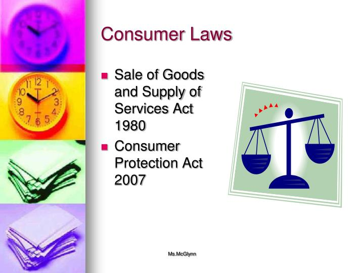 Consumer Laws