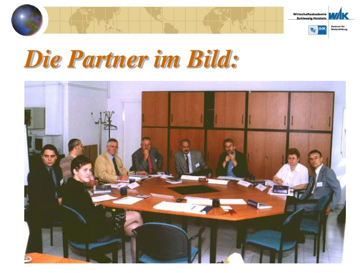 Die Partner im Bild: