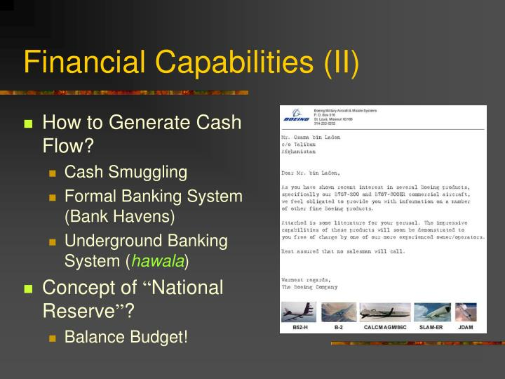 Financial Capabilities (II)