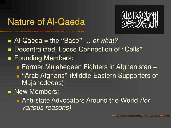 Nature of Al-Qaeda