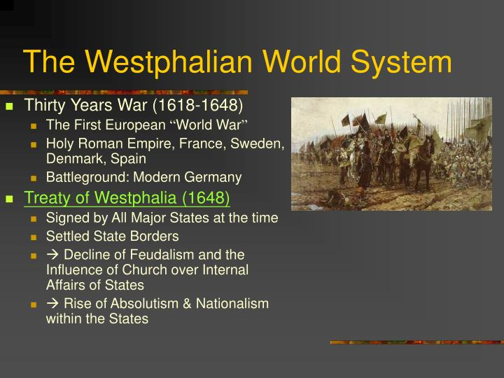 The Westphalian World System